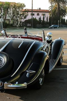 mercedes-benz 540k special roadster | classic luxury sports cars