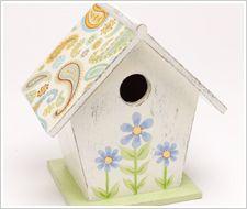 Sweet Birdhouse #PlaidCrafts #crafts