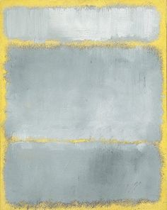 View Grays in yellow by Mark Rothko on artnet. Browse upcoming and past auction lots by Mark Rothko. Abstract Painters, Abstract Art, Rothko Art, Rothko Prints, Modern Art, Contemporary Art, Tachisme, Franz Kline, Arte Tribal