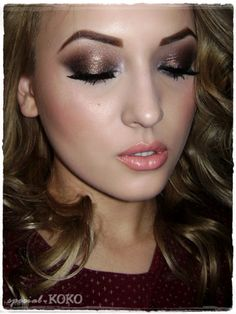 Special Koko - Make-up, beauty & fashion!: Holiday Look #6 : Hot Cocoa
