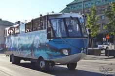 : Jedyny amfibiobus w Skandynawii Sweden