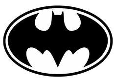 Batman Logo vinyl decal - For Cars, Laptops, Sticker, Mirrors, etc.