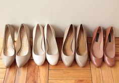 Quest for the perfect nude shoes