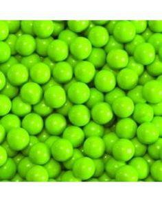 Sixlets Lime Green