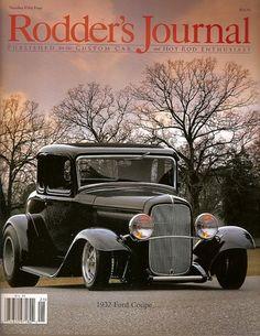 Rodder's Journal, 1932 Ford Coupe, So-Cal Streamliner, number 54, 2012~NEW