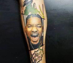 Will Smith tattoo by Renata Jardim Tattoo