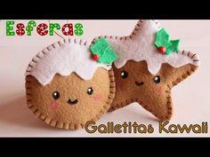 YouTube Burlap Ornaments, Diy Christmas Ornaments, Felt Christmas, Christmas Ideas, Teen Projects, Sewing Projects, Natal Diy, Kawaii Diy, Diy Weihnachten