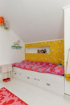 Colorful Built - In Kids Room