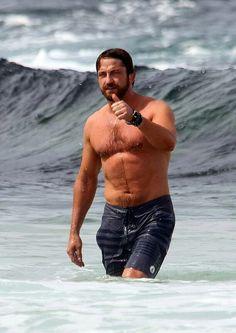 More dripping wet Gerry at Bondi Beach - yummy yum yum :-)