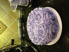 Smash cake mommy made for Princess Alexis.