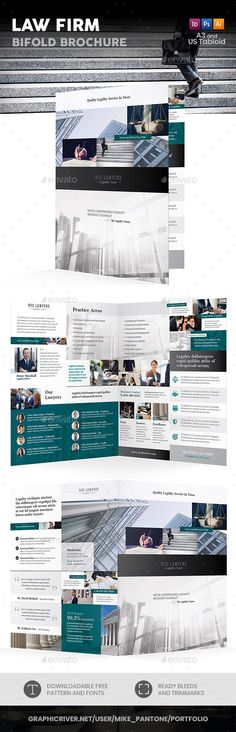 Magazine Design Template InDesign INDD - 24 Pages A4  US Letter - half fold brochure template