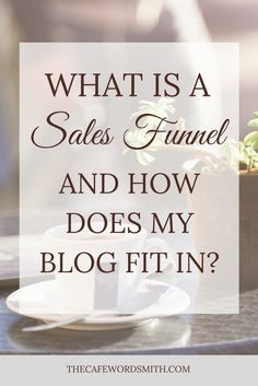 You've probably heard of them and know you need one, but exactly what is a sales funnel? Here's an introduction to how your blog posts can get you sales.