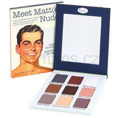 theBalm Meet Matt(e) Nude paleta očních stínů
