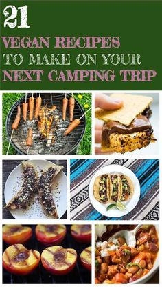 RV And Camping. Great Ideas To Think About Before Your Camping Trip. For many, camping provides a relaxing way to reconnect with the natural world. If camping is something that you want to do, then you need to have some idea Camping Accesorios, French Toast, Campfire Food, Vegan Foods, Vegan Life, Vegan Raw, Whole Food Recipes, The Best, Food To Make