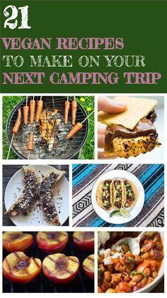 21 Vegan Recipes To Make On Your Next Camping Trip