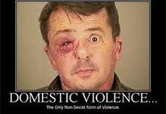 Men abused by women