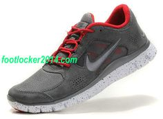 free shipping 45e3f 74f44 Cheap Purchase Nike Free Run 3 Mens Grey Varsity Red Shoes Online Shop Store