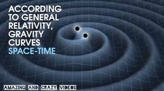 What are gravitational waves? Gravitational Waves, Theory Of Relativity, Science Biology, Quantum Mechanics, Quantum Physics, Space Time, Deep Space, Space Exploration