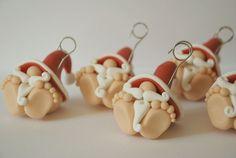 Babbo Natale portafoto o segnapostodecorazione di Incartesimo