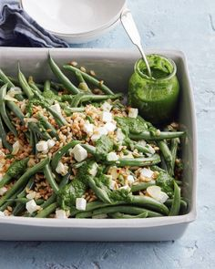 Green Bean Farro Salad
