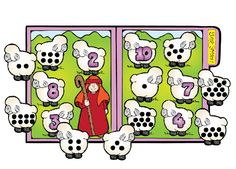 """Sheep Sorters"" is a fun activity that will help children practice their…"