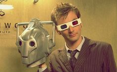 The Tenth Doctor 3D glasses cyberman
