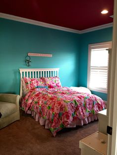 My Room 3 Tantalizing Teal From Sherwin Williams Is The
