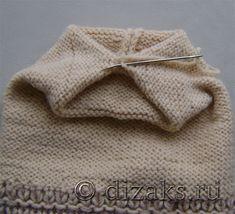 Вязаная шапка с бантом спицами для начинающих Kids And Parenting, Baby Knitting, Knitted Hats, Fashion, Crochet Coat, Long Scarf, Tricot, Caps Hats, Baby Things