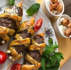 Çöp Şişte Kaşarlı Köfte Beef, Chicken, Food, Meat, Essen, Meals, Yemek, Eten