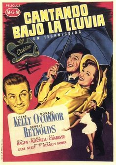 poster Lee Van Cleef, Donald O'connor, Rita Moreno, The Rain Movie, Movie Tv, Gene Kelly, Singin In The Rain, Stanley Donen, The Shape Of Water