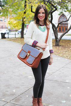 Fall style + @J O Totes Camera Bag