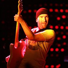 A lot had already been said about the guitar by the time the Edge picked it up. His secret is that he taught himself to play – that's why he's so unique. He's got such an innovative mind: Every U2 album that I've been involved with had a new sound from the Edge. There's not a lot of strumming in his playing; he's very much a servant to the melody. He focuses on the interplay between his guitar and Bono's vocals.