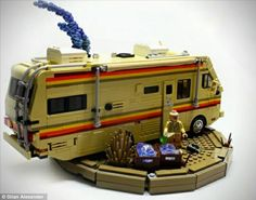 Outrage as toy company creates 'crystal meth lab' for children with Breaking Bad play sets. 500-part set has all the drugs paraphernalia used in hit American series. Lego refused to sanction or endorse the toy, which was made by independent company Citizen Brick