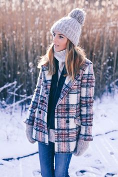 Winter outfit Prosecco & Plaid