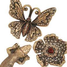 edgar berebi decorative hardware collection flora fauna wave plumbing - Decorative Hardware