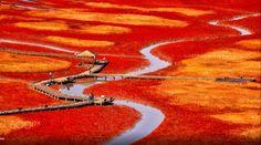 Sinan, Korea - salt pit