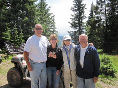 Rocky Mountains with Evelyn and Rob for her 60th birthday.