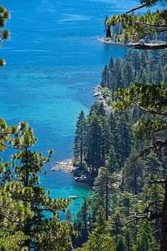 West Shore of Lake Tahoe, California