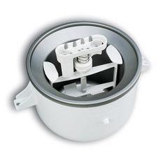 KitchenAid KICA0WH White Ice Cream Bowl Attachment - Overstock™ Shopping - Big Discounts on KitchenAid Mixers