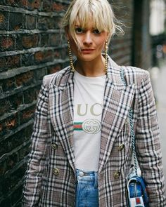 The right combination can make your blazer go from classic staple to bomb dot com  Shop the Checks & Blazers edit at Seezona.com!  Photo by @sandrasemburg  #outfitidea #stylediary #styleaddict #styletip #ootdshare