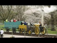 The Rocket - Replica of Stephenson's 1829 Steam Locomotive - YouTube