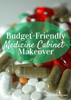 One of the best ways you can reduce toxins is your home is ditching traditional medicine. Complete a medicine cabinet makeover on a budget and get healthy.
