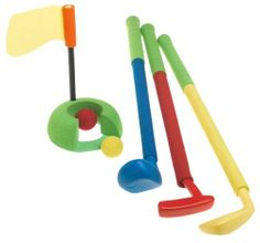 Gamenamics Sponge Bugs Kids Fun Golf by Gamenamics. $21.99. Amazon.com                Keep your kids active with the colorful collection of sports games from Gamenamics Sponge Bugs, which feature durable padded foam that's soft but keeps it shape for safe play. Great for indoor or outdoor play, these fun games will allow your child to improve their coordination and at the same time provide exercise. They're recommended for children ages 3 and older.  The colorful...