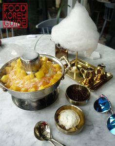 Mango Waterfall Bingsu 망고폭포빙수