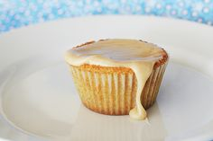 Brown Sugar Pound Cakes with Brown-Butter Icing - Taste and Tell