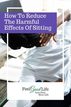 Let's all face it, we sit too much! I'll break down reasons why sitting hurts your joints and give you 3 tips to help reverse the ill effects of sitting! Isometric Exercises, Ligaments And Tendons, Knee Pain Relief, Sciatic Pain, Lower Back Exercises, Bad Posture, Healthy Lifestyle Motivation, Senior Fitness, Easy Workouts