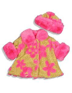 Leopard Flower Swing Coat $82.90