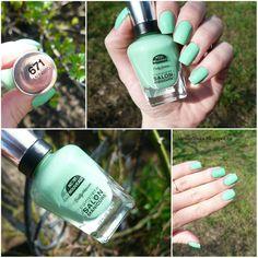 Alenka's beauty: Sally Hansen Complete Salon Manicure #671 Moheato....
