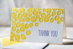 Letterpress Note Cards  Buzz. Bamboo paper patterned by smockpaper, $16.00