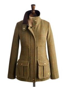 FIELDCOAT Womens Tweed Coat